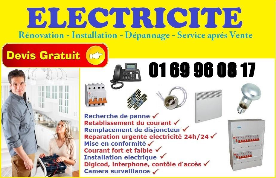 Electricien Mennecy